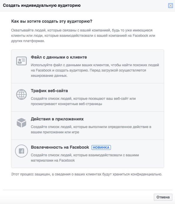 Как создать похожие аудитории на Facebook: 4 способа