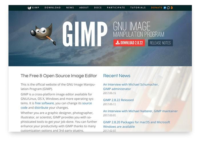 Бесплатные фотостоки. GIMP