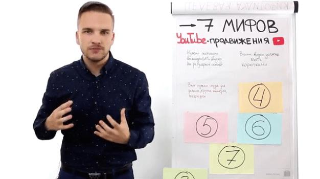 Раскрутка Ютуб канала. 7 мифов продвижения. 2.