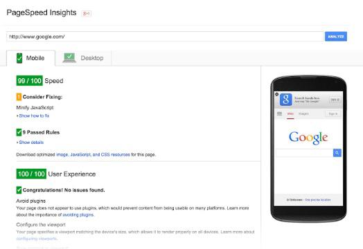 Скорость загрузки сайта.PageSpeed Insights.