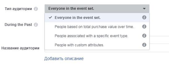Реклама в Фейсбук. Аудитория офлайн событий. 4 типа офлайн событий