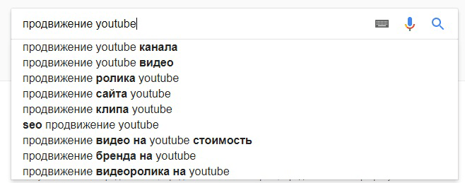 Оптимизация YouTube канала. Поиск Google