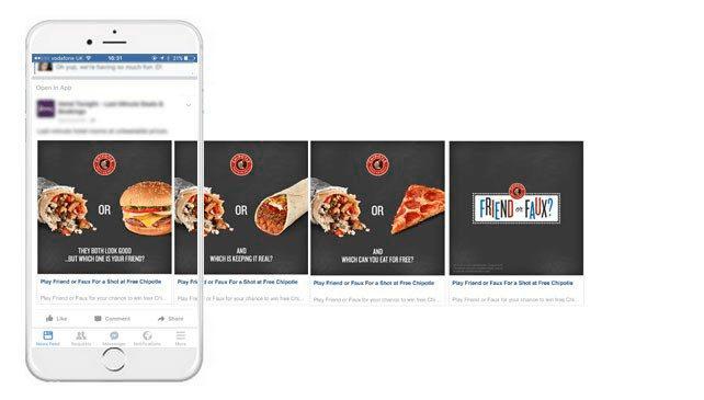 Фейсбук реклама 4 шага. Карусель