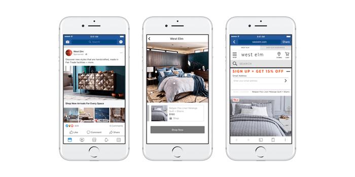 Фейсбук реклама 4 шага. Подборка
