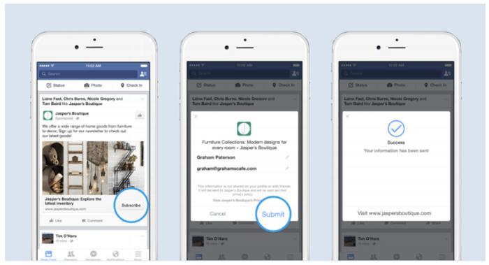 Фейсбук реклама 4 шага. Реклама для лидов
