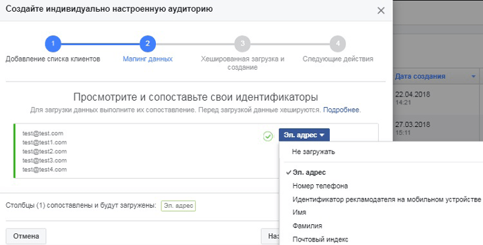 Аудитория Facebook: как использовать жизненный цикл клиента. Идентификаторы