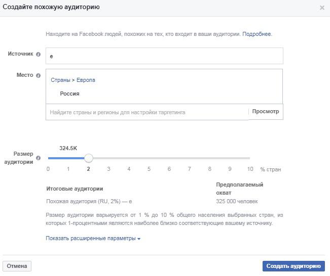 Аудитория Facebook: как использовать жизненный цикл клиента. Охват