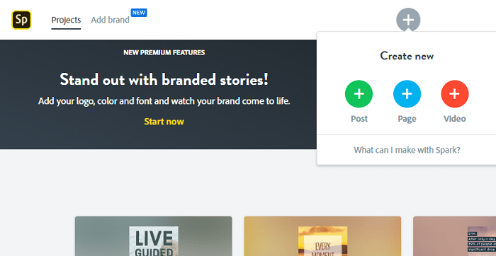 5 инструментов для Instagram Stories. Создать новую страницу