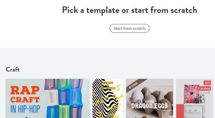 Истории Instagram для формы подписок. Выбрать шаблон