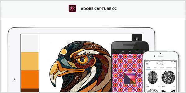 Продвижение в соцсетях. Adobe Capture