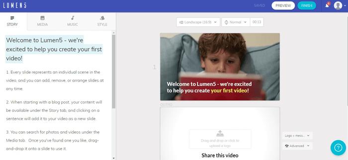 Создание видеороликов 3 сервиса. Текст