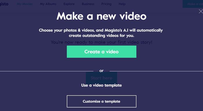 Создание видеороликов 3 сервиса. Создать