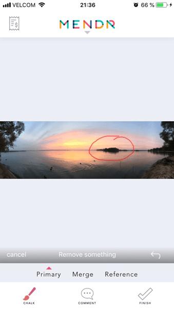 Улучшить качество фото. Выделить