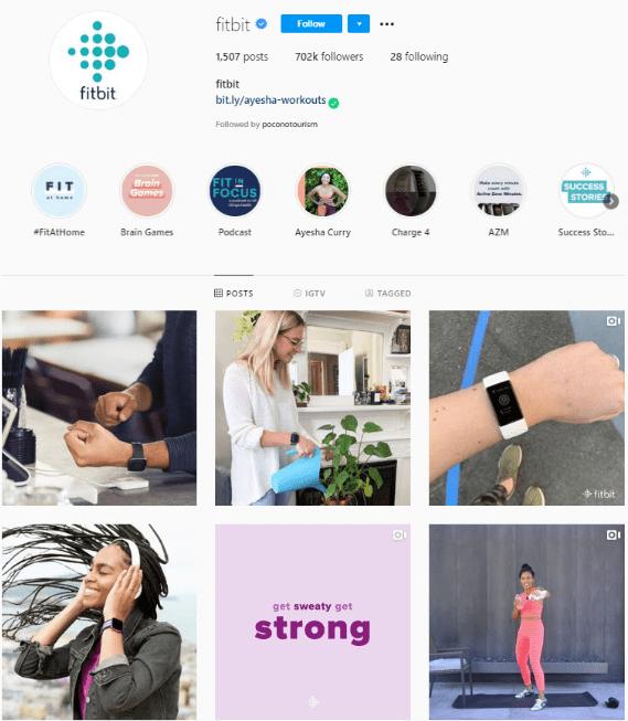 Подписчики в Инстаграм. Fitbit