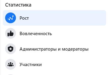 Статистика групп. Статистика
