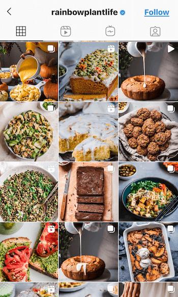 Instagram фильтры. Для еды