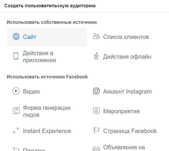 Реклама Facebook. Аудитория