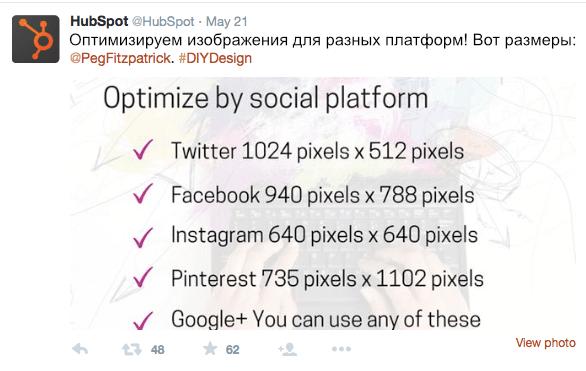 Примеры контента. Польза
