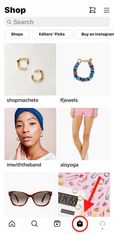Продажи в Instagram. Магазины